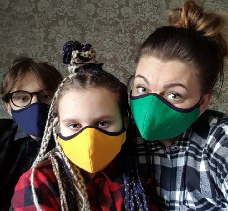 Lietuviškos apsaugines kaukės apsaugai nuo CORONAVIRUS
